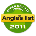 For our level of Furnace service in Lansing MI, we have a Angies List Super Service Award!