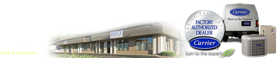 Let Doty service your Carrier Furnace in Lansing, MI!