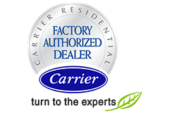 Doty Mechanical meets the high standards required for it to be a Carrier Factory Authorized Dealer!